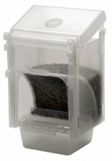 Plastic Seed Hopper - Vacation Feeder - Bird Cage Accessory - Feeder