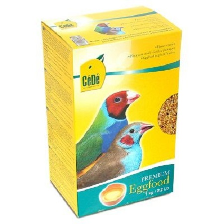 Cede Tropical Finch Premium Eggfood for lady gouldian finches - Lady Gouldian Finch Breeding Supplies