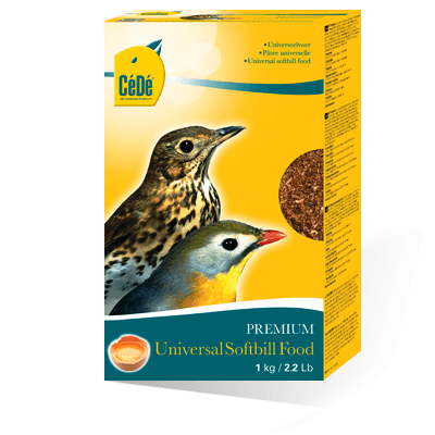 Cede Universal Softbill Food - Eggfood for Softbill birds
