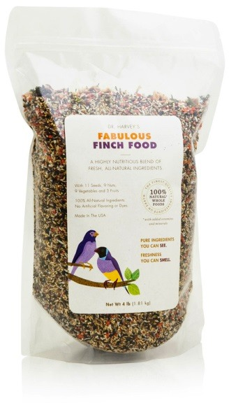 Fabulous Finch Food from Dr. Harvey's Bird Food Human Food Grade Ingredients