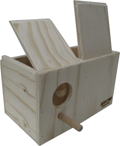 Wood Nest box for gouldian finches - Professional Line