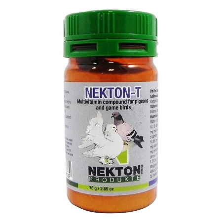 Nekton T 75 g, 150 g, 750 g Bird Vitamins Doves and Pigeons
