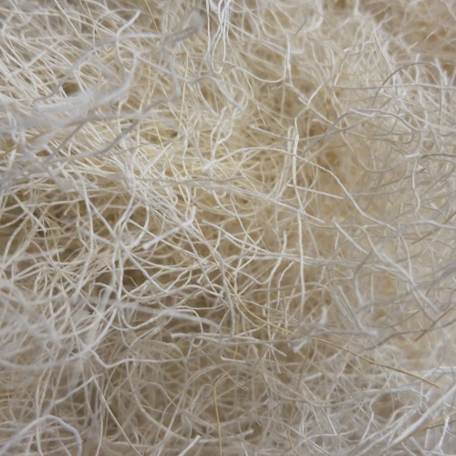 bags of White Coconut, Sisal, and Cotton Nesting Material -Finch Breeding Supplies