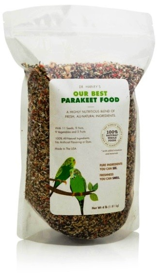 Our Best Parakeet Food from Dr. Harvey's - Parakeet Supplies
