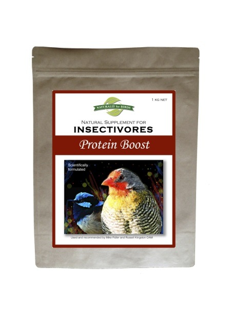 Naturally for Birds -  Protein Boost Supplement -  Insectivore Diet - Finch Breeding Supplies