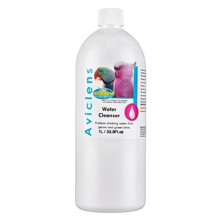 Aviclens Water Cleanser by Vetafarm - Water Conditioner - Cage Bird Supplies